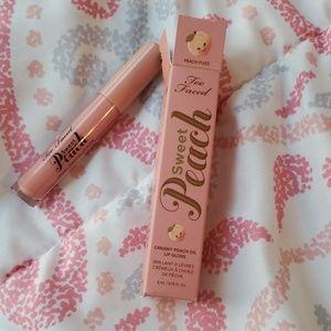 🍑Too Faced Sweet Peach Creamy Lip Gloss NWT